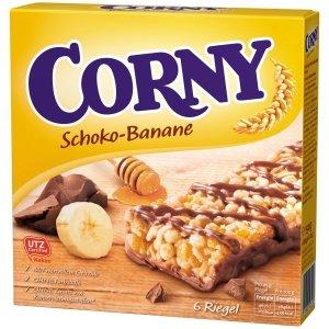 Corny Batoniki Zbożowe Czekolada Banan 6szt DE