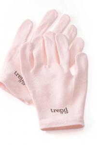 Trend IT Bawełniane Rękawiczki SPA Nawilżające 1 para