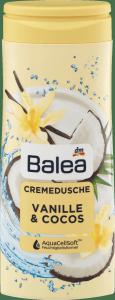 Balea Vanille Cocos kremowy żel pod prysznic Wanilia Kokos 300ml