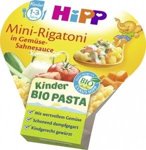Hipp Bio Mini Rigatoni Makaron w sos Śmietanowy 12m 250g