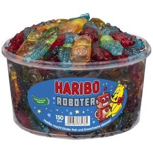Haribo żelki Roboter owocowe rototy 150szt 1200g