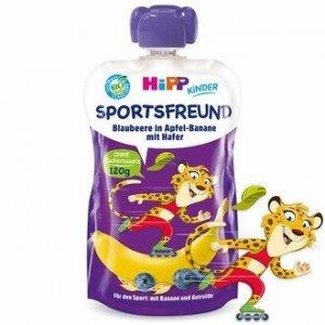 Hipp Sportfreund Jagody Jabłko Banan Owies 120ml