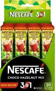 Nescafe Kawa Rozpuszczalna 3w1 Czekoladowo Orzechowa