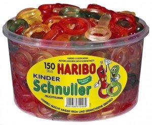 Haribo Kinder Schnuller Owocowe Smoczki 150szt 1200g