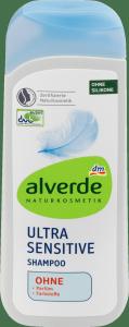 Alverde Wegański  Szampon Ultra Sensitive 200ml