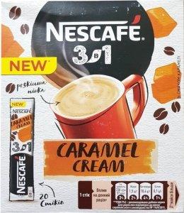 Nescafe Kawa Rozpuszczalna 3w1 Caramel Cream