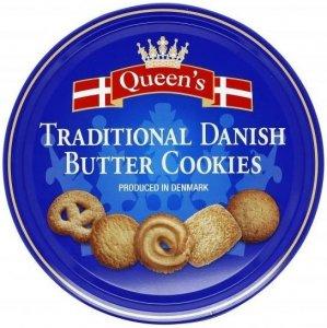 Queens Danish Butter Cookies Duńskie Ciasteczka Maślane 500g