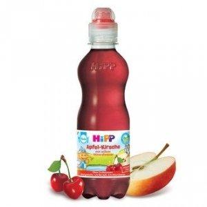 Hipp Bio Soczek Jabłko Wiśnia Woda Mineralna 0,3L 1r