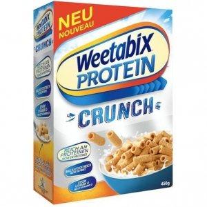 Weetabix Protein Crunch Płatki Rurki Do Mleka 450