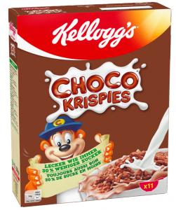 KELLOGG'S Choko Krispes Ryżowe Czekoladowe Płatki