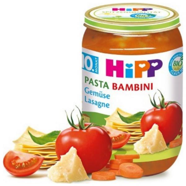 hipp-bio-lasagne-warzywna-10m-220g-słoiczek-pomidory-obiadek