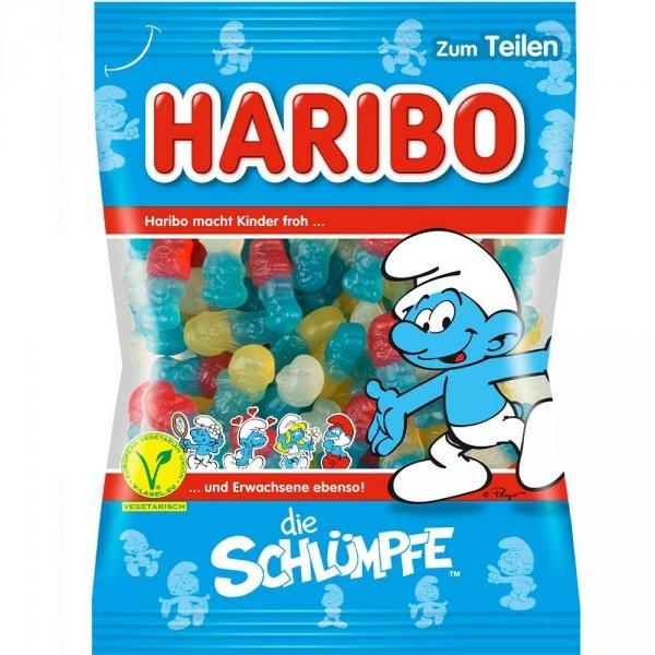 Haribo-die-Schlumpfe-klein-200g-żelki-smerfy