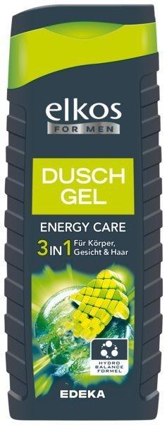 Elkos Men Energy żel prysznic szampon Limonka 3w1