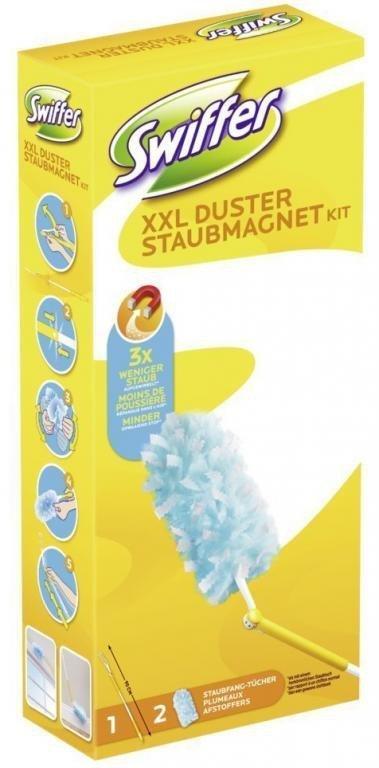 Swiffer XXL Wkład + Miotełk widelec Febreze 1+2