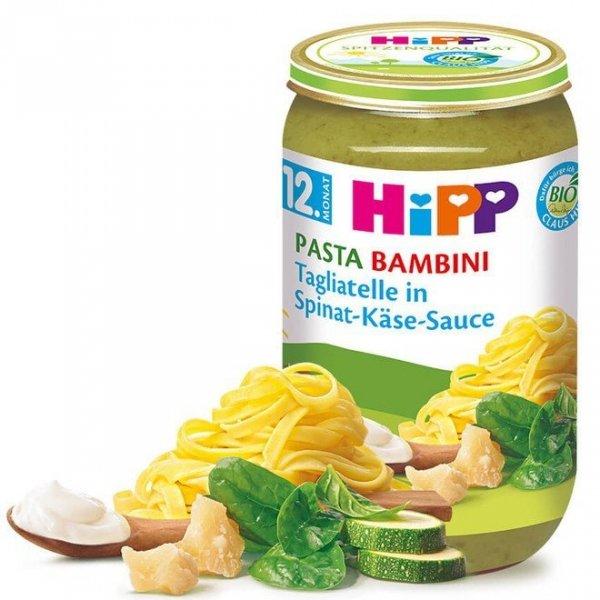 hipp-bio-tagliatelle-sos-szpinakowo-serowy-12m-250g-obiadek-dla-dzieci