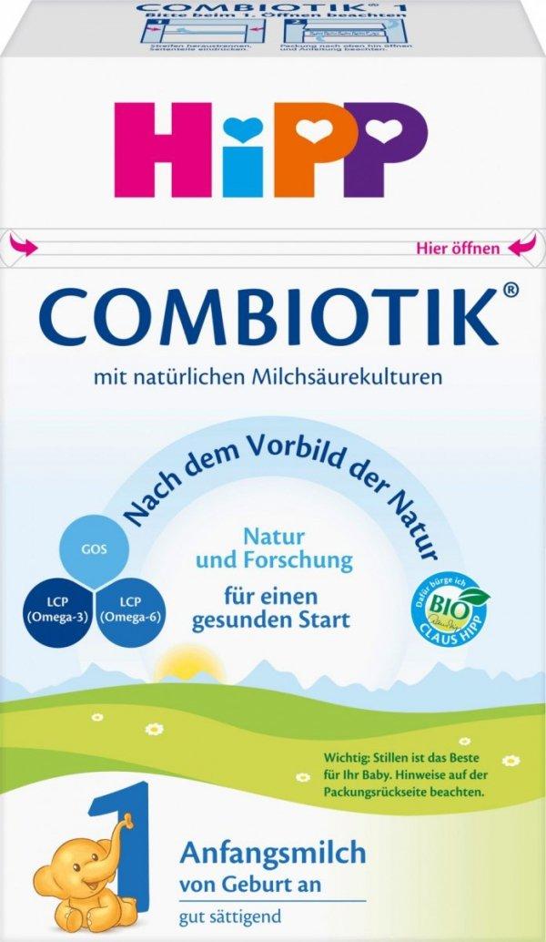 hipp-1-bio-combiotik-600g-mleko-początkowe-niemieckie-dla-dziecka