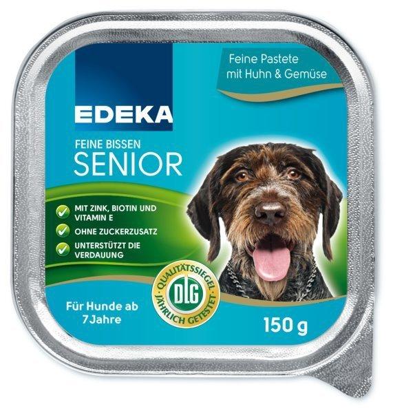 ED karma pasztet dla psa Senior Kurczak Warzywa