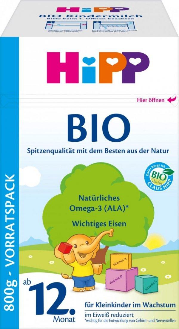 hipp-bio-800g-mleko-od-12-miesiąca-dla-dzieci-niemieckie