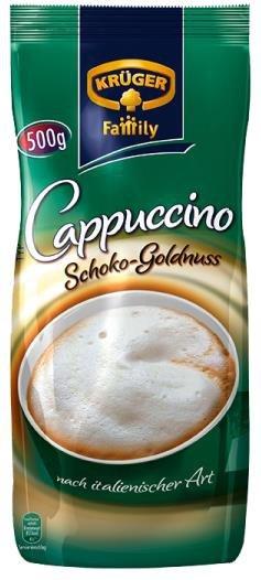 Kruger Cappuccino Czekoladowo Orzechowe 500gr