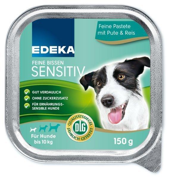 ED karma pasztet dla psa Sensitiv Indyk Ryż