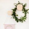 Wieszak ze sklejki brzozowej okrągły Nuki