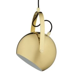 Lampa wisząca BALL W/Handle Ø18cm Frandsen mosiądz
