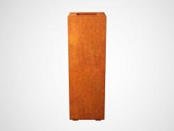Donica metalowa - Corten ALTO 1 300x300x900