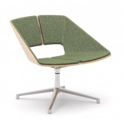 INFINITI  krzesło obrotowe HUG Maxi aluminum base