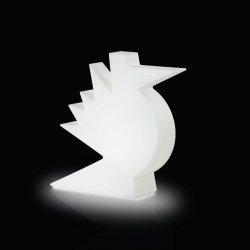 Lampa stołowa Here 50x50x14 Slide