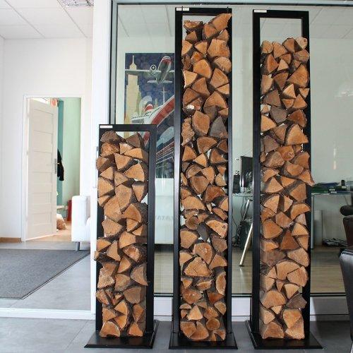 Stojaki na drewno i akcesoria kominkowe