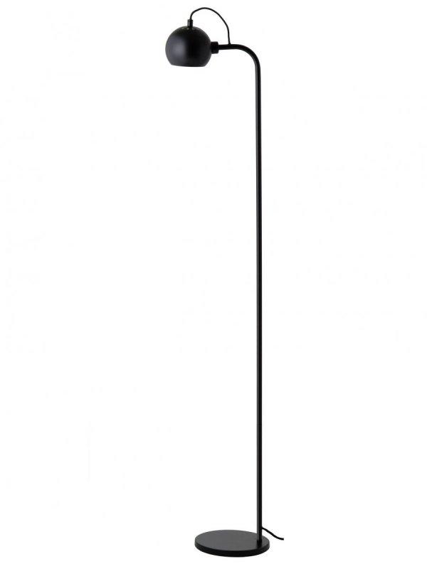 Lampa Stojąca BALL FLOOR Frandsen kolor czarny mat