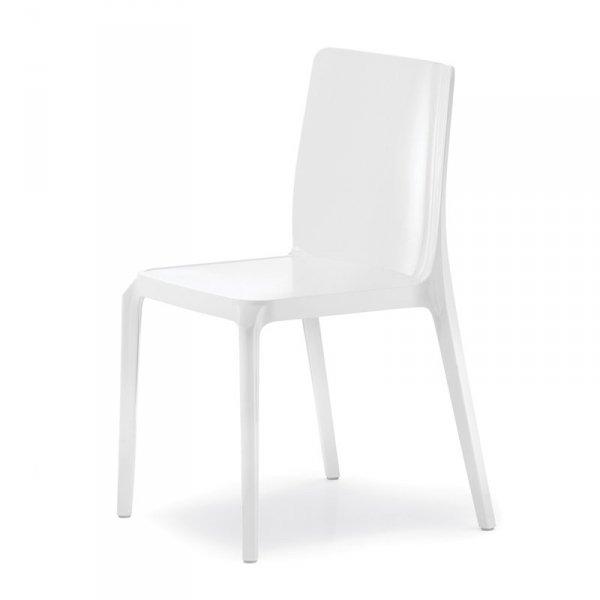 Dizajnerskie krzesła kuchenne Pedrali Blitz 640 Białe