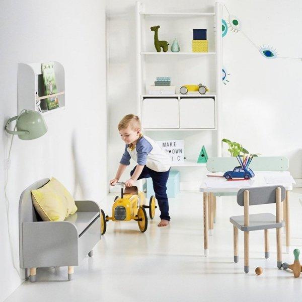 Stylowe meble dziecięce Flexa Play są dostępne w 4 pięknych modnych kolorach