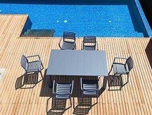 Krzesła Artemis i stół Vegas Siesta piękny zestaw na taras