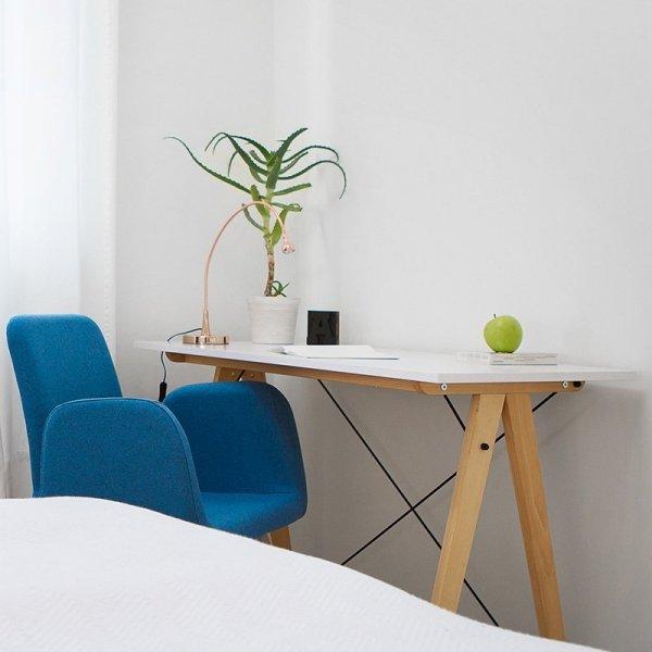 Nowoczesne biurko o minimalistycznych liniach Minko Slim