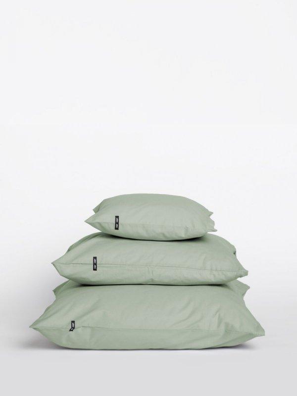 Poszwa bawełniana na poduszki PURE 2 szt. - szałwiowa zieleń