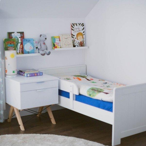 Kontenerek Minko Kids jest też idealny jako szafka nocna do pokoju dziecięcego