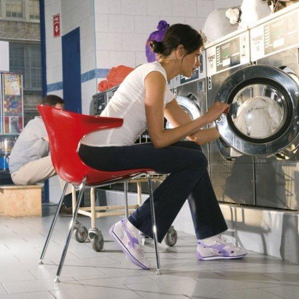 Nowoczesne krzesło Loop 3d Infiniti