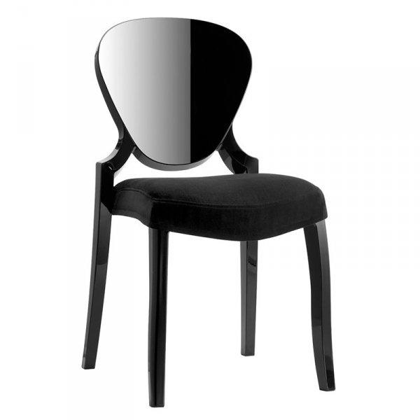 Stylowe krzesła z poduszkami Queen 650 Pedrali