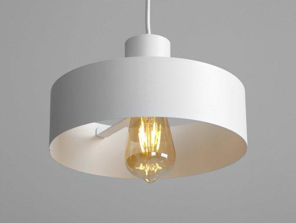 Lampa wisząca FAY 1 M – biały
