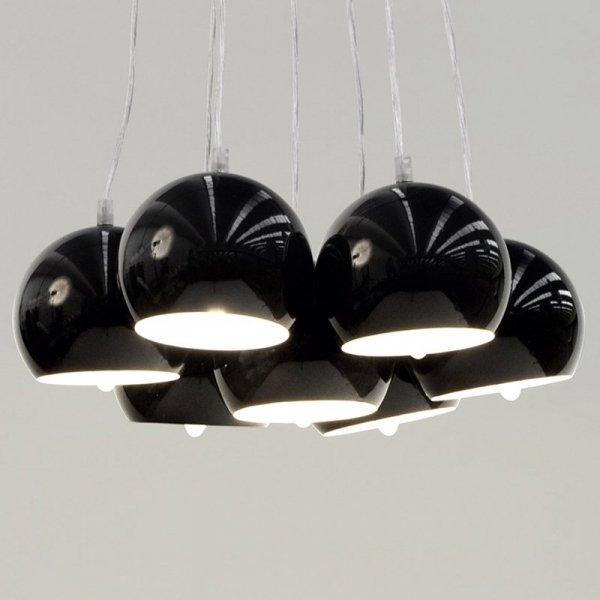 Nowoczesna lampa Eklektik Czarna