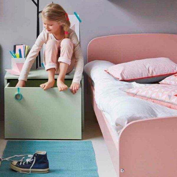 Łóżko dziecięce Flexa Play różowe 190cm