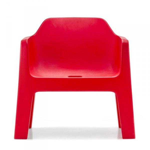 Stylowe fotele do wnętrz i ogrodów Plus Air 631 Pedrali Czerwony