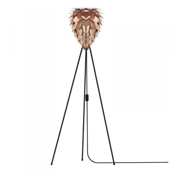 Abażur Conia Mini może być stosowany ze stelażami do lamp podłowych, stołowych czy lamp wiszących