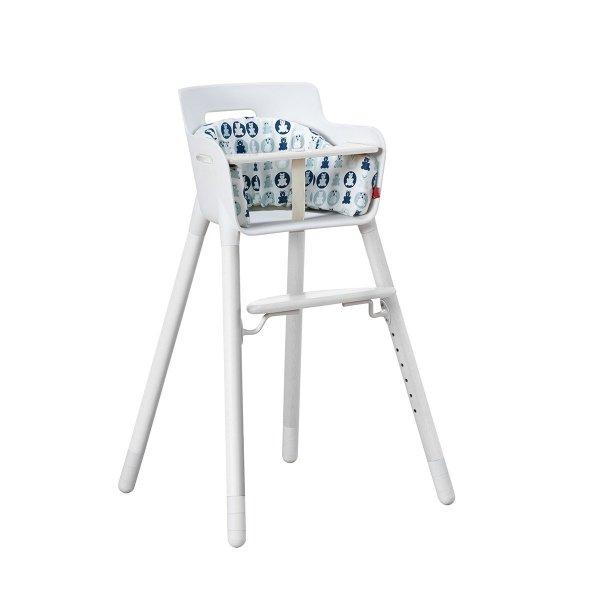 Poduszka do wysokiego krzesełka błękitna Flexa Baby