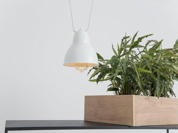 Lampa wisząca COBEN HANGMAN 1 – biały