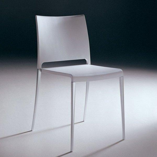 Stylowe krzesła do kuchni i jadalni wykonane z tworzywa