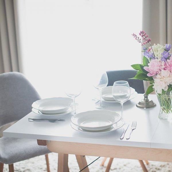 Ręcznie wykonany stół rozkładany Minko Basic