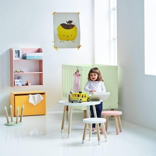 Skrzynia na zabawki z siedziskiem Flexa Play żółta