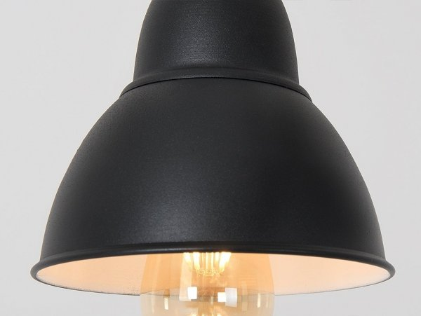 Lampa wisząca COBEN HANGMAN 1 – czarny